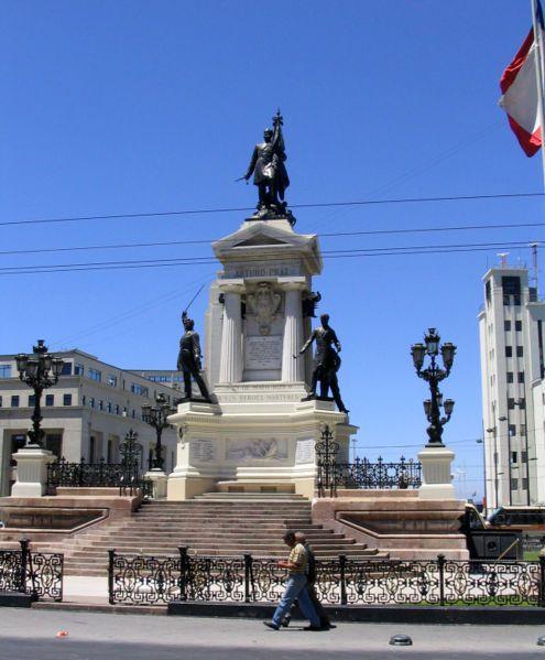 Héroes de Iquique, Plaza Sotomayor, Valparaíso