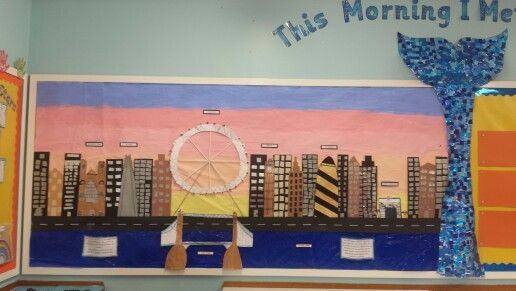 Classroom Center Ideas ~ London city scene this morning i met a whale classroom