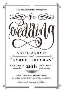 Free Wedding Invitation Templates | Greetings Island