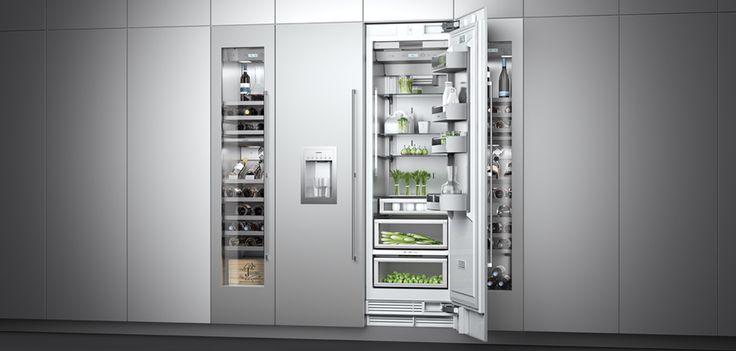 Gaggenau Refrigerator and Wine Refrigerator     by resources.gaggenau.com