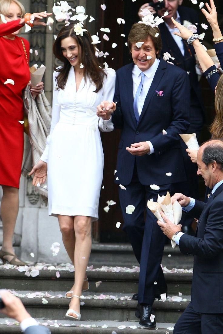 Nancy Shevell married Paul McCartney in Stella McCartney, 2011.