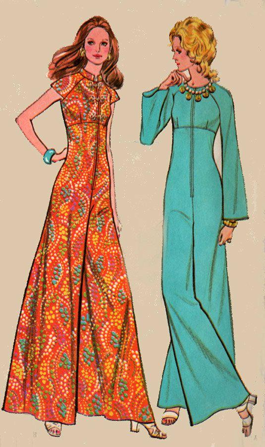 846 best 1970s Boho Sewing Patterns images on Pinterest | Vintage ...