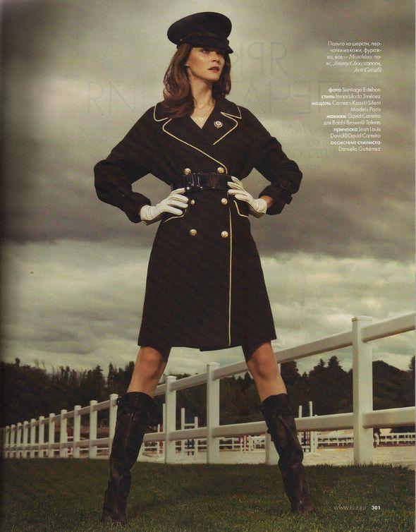 Съёмка: Кармен Касс для российского Elle. Изображение №10.