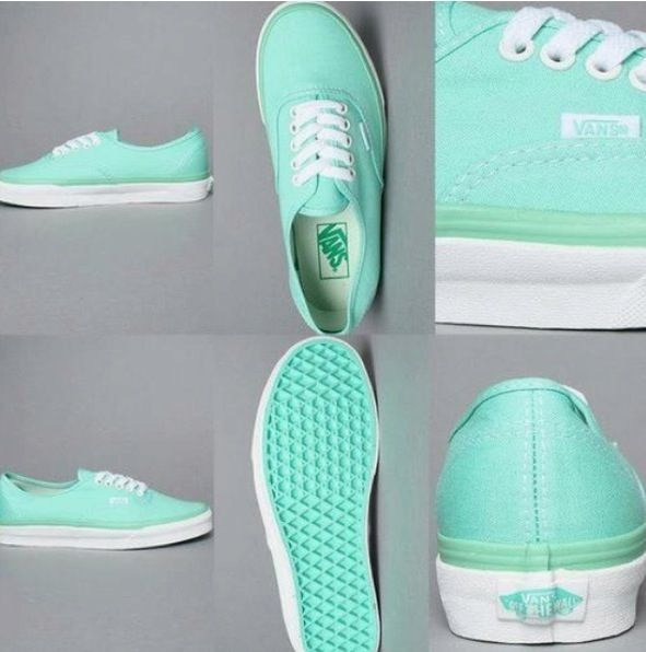 I really want these mint vans!