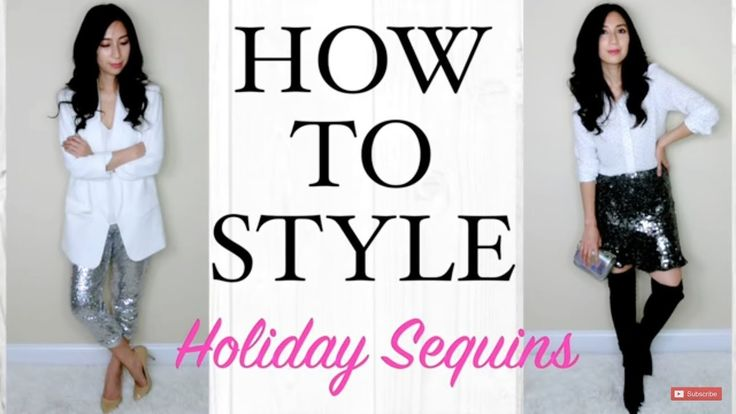 How To Style With Sequins For The Holidays | What To Wear - 3 Outfits For Holiday 2017 | Alexa Style Book  Hello Everyone Todays video is going to be my take on how to style sequin for the holidays.  I am going to show you how I incorporate a few sequins pieces into my holiday style..  Hope you enjoy!  Outfit 1 Blazer (H&M): Blazer (Similar H&M): http://go.magik.ly/ml/7es2/ Silk Button up (H&M): http://go.magik.ly/ml/853y/ Sequin skirt (Zara- Similar)…