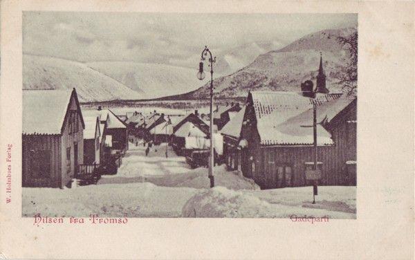 Stedskort: Hilsen fra Tromsö, Gadeparti