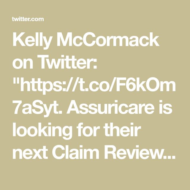 """Kelly McCormack on Twitter: """"https://t.co/F6kOm7aSyt. Assuricare is looking for their next Claim Review Associate in Waltham, MA #AdminCustSer"""""""