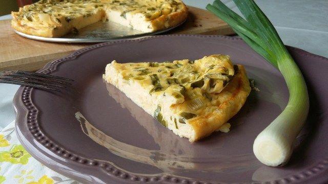Zöldséges fritatta recept