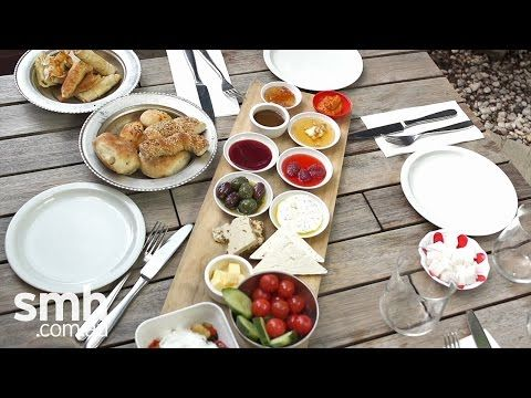 Turkish breakfast: Feast your eyes - YouTube