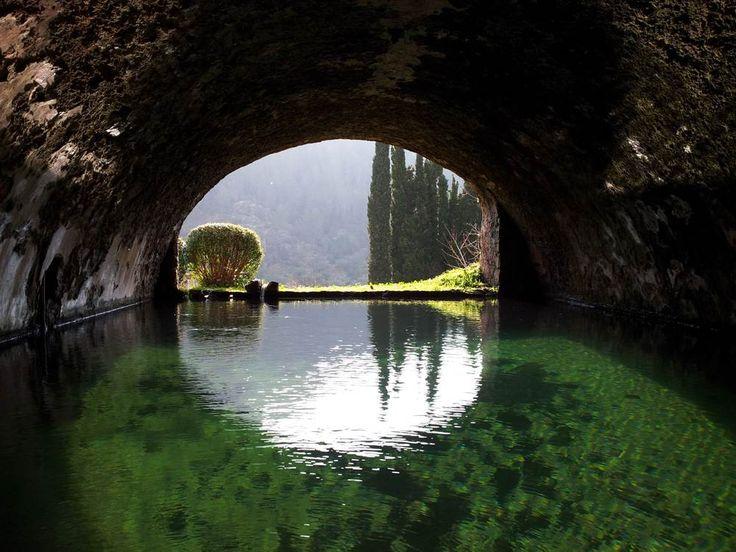 Mallorca-Arabische-Gärten-Alfabia-Wasser