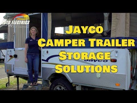 Jayco Camper Trailer Storage Solutions - Accelerate Auto Electrics & Air Conditioning