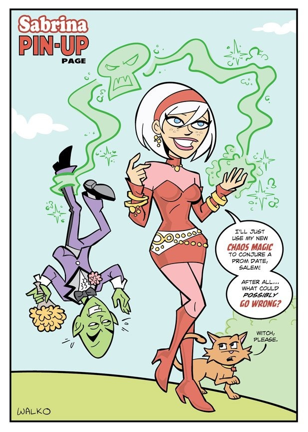 """Sabrina the Teenage Witch    """"What if Sabrina the Teenage Witch switched powers with the Scarlet Witch?""""Power Theft, Book Life, Comics Book, Teenagers Witches, Switched Power, Scarlet Witches, Witches Switched, Following Comics, Book Resources"""