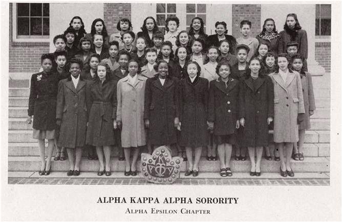 Alpha Kappa Alpha Sorority Inc...1940's