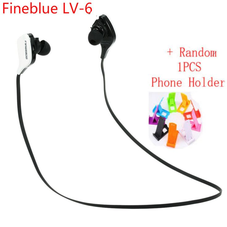 Fineblue LV-6 Sweat-proof Audifonos Bluetooth Headset Stereo Sports Earphone Handsfree Auriculares Fone Headphone For  Phone