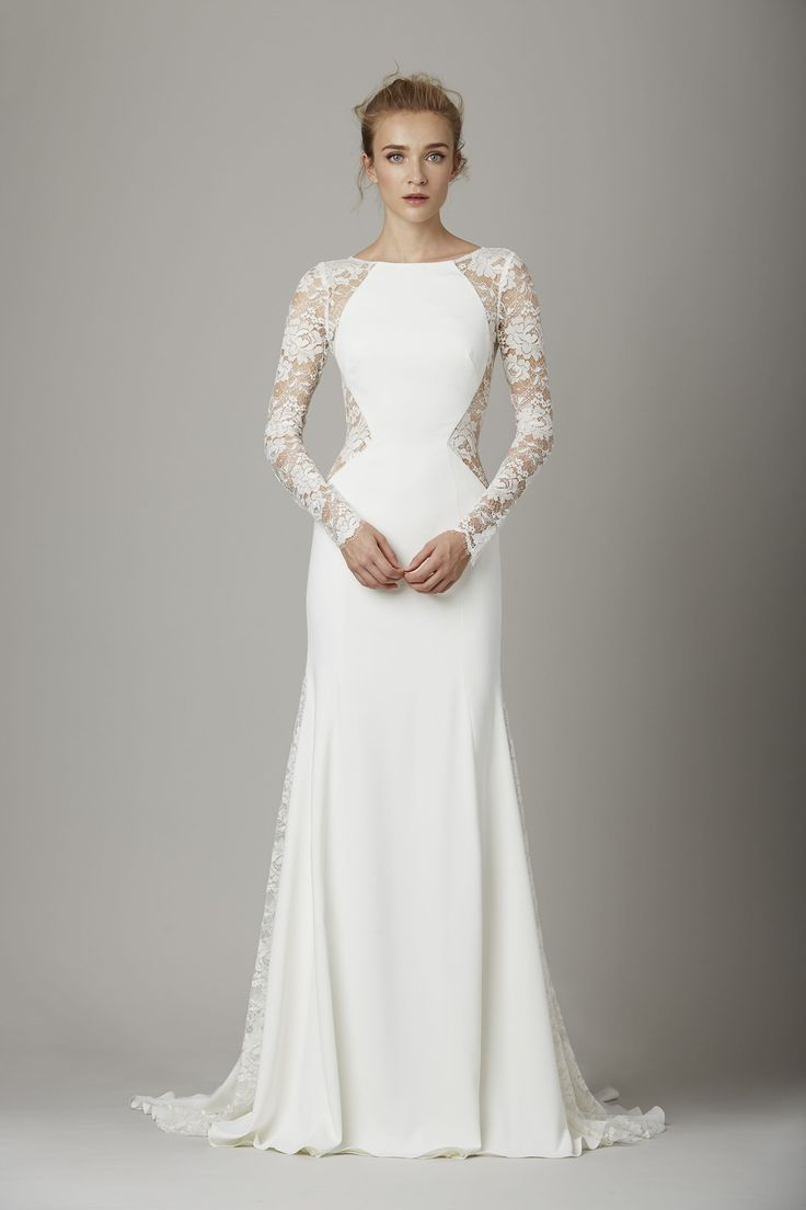 1000  ideas about Modern Wedding Dresses on Pinterest  Elegant ...
