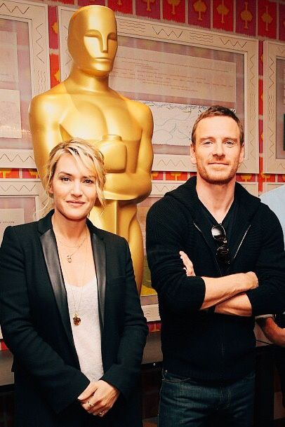 Michael Fassbender Is Beautiful — Kate Winselt is so damn gorgeous