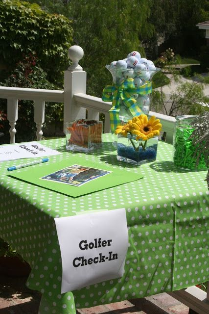 Party Wishes: Mini Golf Party