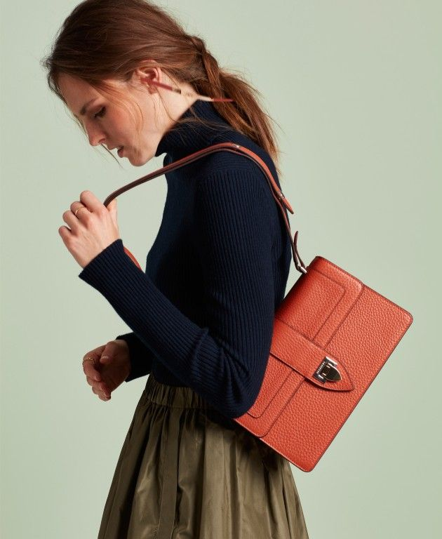 DECADENT Aya shoulder bag, autumn orange