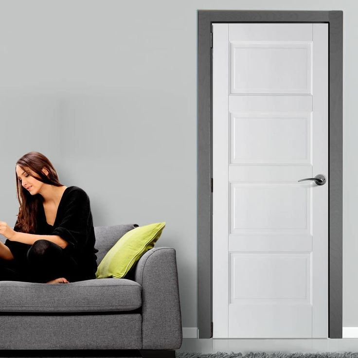 Contemporary White Solid Fire Door Is A Shaker Style Hour Fire Rated Door.