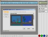 Create your own animation using a variety of scenes including aquatic, World War II, American Revolution, 1800s Great Britain, 1600s castle, or jungle... just to name a few!