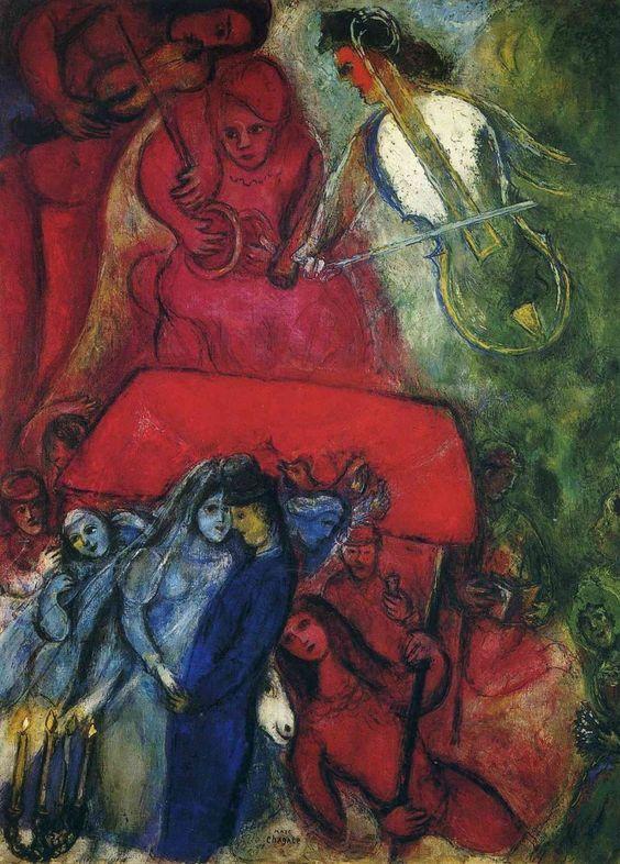 Marc Chagall - The Wedding, 1944