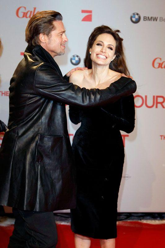 El amor de Angelina Jolie y Brad Pitt