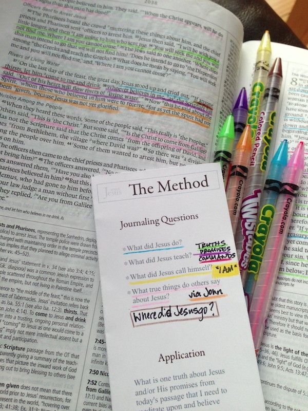 A fun and easy way to deepen your Bible study!