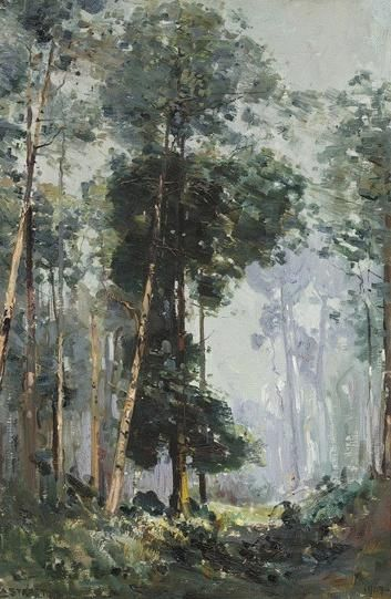 The Glade (1907) Arthur Streeton