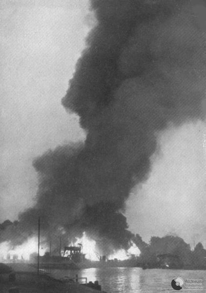 1939. PLONACE WESTERPLATTE. ADM SYG. II-65                    NR. NEG. R 8230