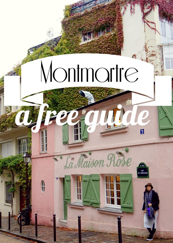 A guide of free attractions in Montmartre, Paris