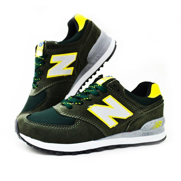 New Balance 574 Haki Sarı | BAYAN AYAKKABI | Spor | New balance kadın ayakkabıları - En uygun fiyata | Nelazimsa.net