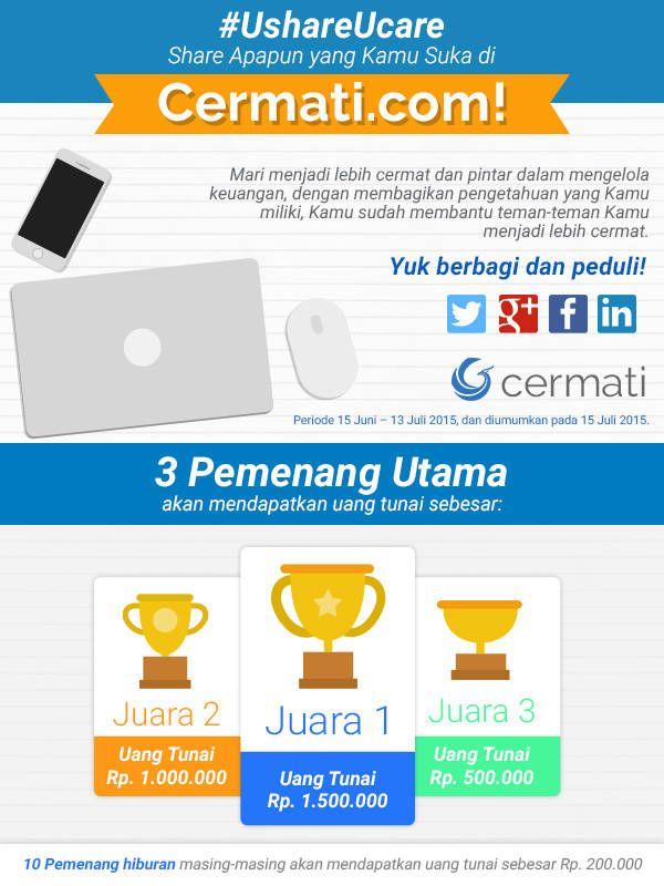 Kontes Share Artikel Cermati.com: Berhadiah 5Juta Rupiah