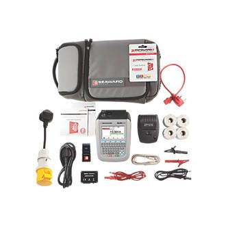 Seaward 380A966 Apollo 500 PAT Tester Pro Kit Advanced plug n play PAT tester complete with bluetooth label printing solution, bluetooth scanner and full PATGuard 3 one year software licence. With a comprehensive range of electrical test features http://www.MightGet.com/january-2017-13/seaward-380a966-apollo-500-pat-tester-pro-kit.asp