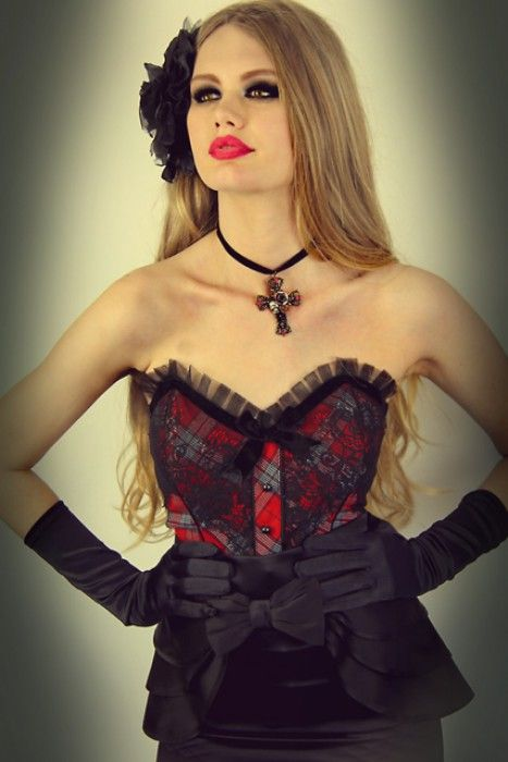Pretty In Punk Corset