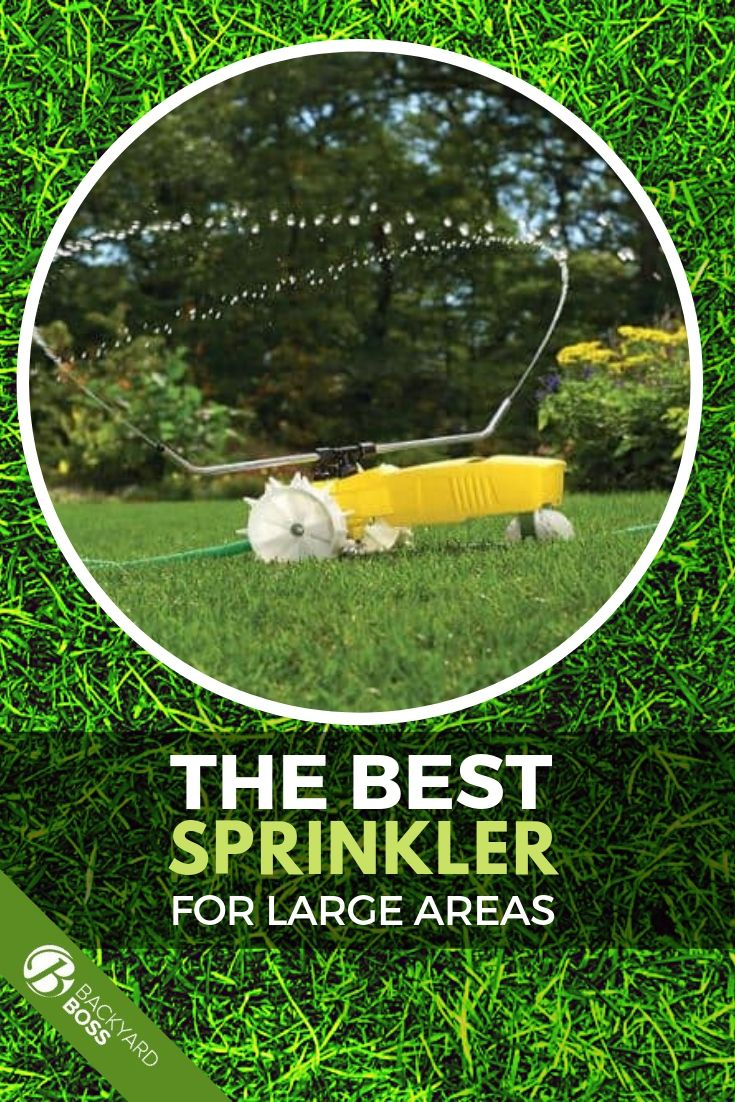 The Best Sprinklers For Large Areas Backyard Reviews And