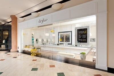 DRY BAR in Newport.... they only do blow outs, plus they serve mimosas and play chick flicks. Perfect for a girls day!