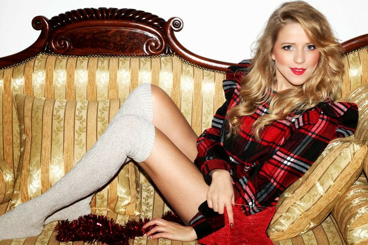 JEMERCED by Jessy Mercedes: CHRISTMAS TARTAN LOOK 2013