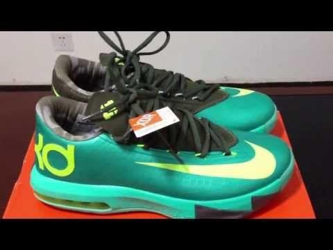 Hot Sale Cheap Nike KD V 5 Hulk Atomic Teal Volt Dark Atomic Tea