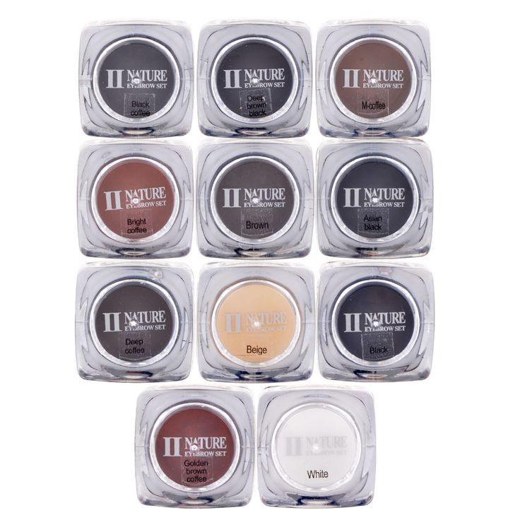 PCD Profesyonel Kalıcı Makyaj Mürekkep Kaş Dövme Mürekkep Set 10 ML Dudak Microblading Pigment 11 Renkler İsteğe J21