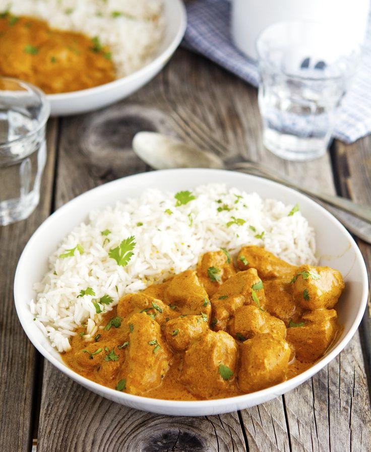 Easy Creamy Crock-Pot Butter Chicken (Murgh Makhani