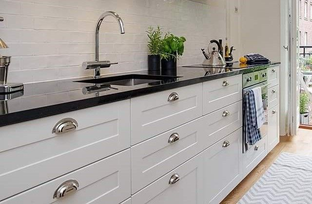 13 Small Kitchen Design Ideas That Make A Big Impact The Urban Guide In 2020 Kitchen Layout Types Of Kitchen Cabinets Very Small Kitchen Design