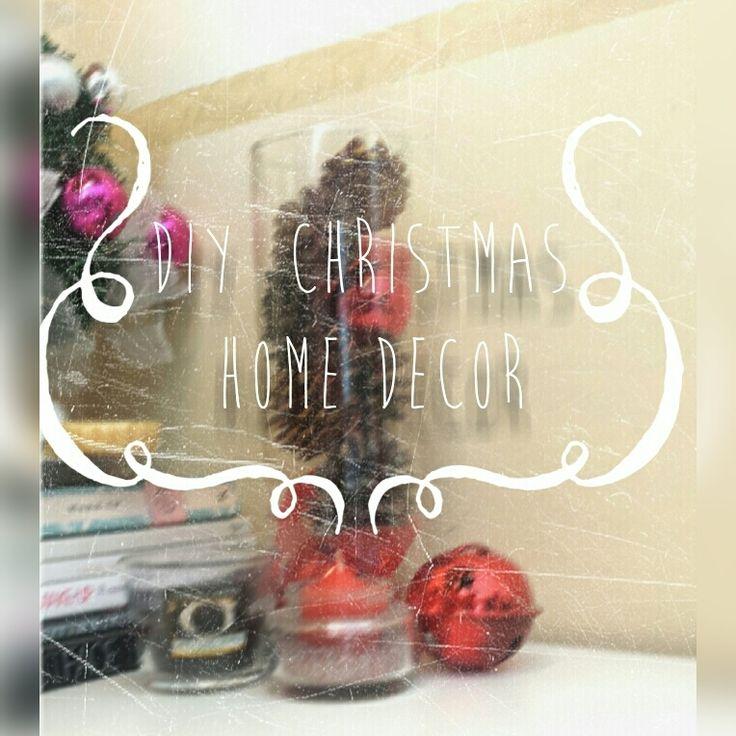Make life Charming: [DIY] Christmas home decor