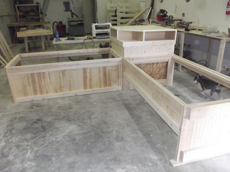 l interiors shaped beds bed with house corner on cozy twin table unit