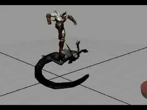 Kevin Rucker God of War Reel