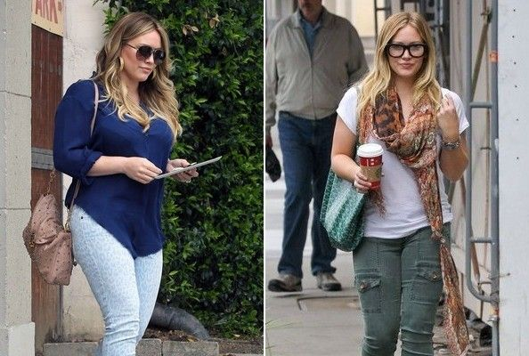Hilary Duff Loses Baby Weight, Celebrates Return to Skinny Jeans
