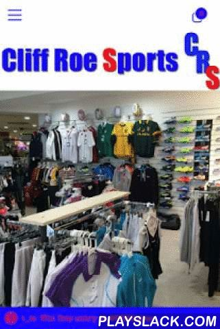 Cliff Roe Sports  Android App - playslack.com ,  Cliff Roe Sports are one of the leading sports wear and equipment suppliers in South East England. Our stores in Ascot Windsor or on line you can view our comprehensive range of sports goods. If you run , work out or play football, rugby, hockey, tennis ,squash or cricket we have it covered !Features in our app - Find our store location and website - Loyalty scheme , never miss out on your discount again - Money off coupons for a regular…