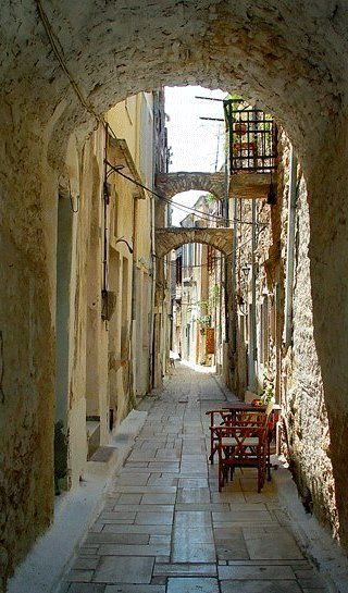 Kalamoti Village ~ Chios Island, Greece