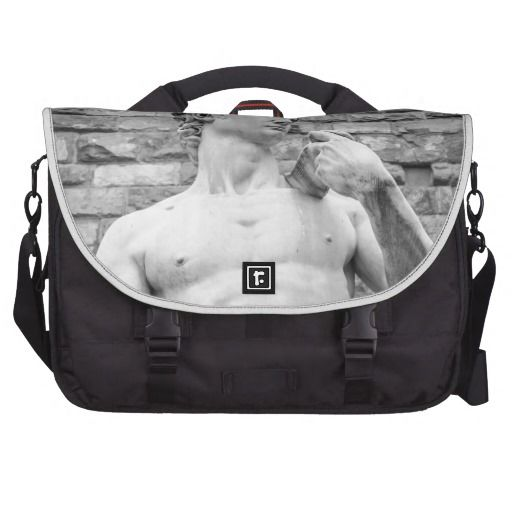 David (Michelangelo) Laptop Commuter Bag - $199