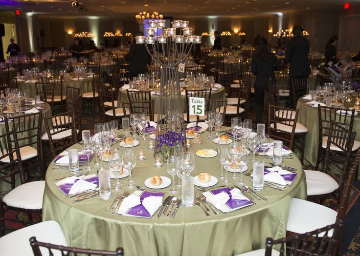 The Ballroom at The Hotel at Auburn University set for the 2014 Hospitality Gala   Auburn, AL Fundraiser