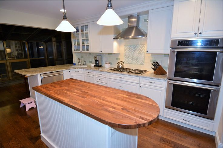 Eco Countertop Edges : ... eco forward walnut eco pro island countertop with curved edge